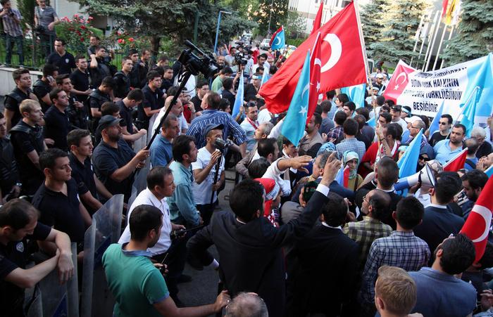 Китай, уйгуры, репрессии, Синьцзян, Турция, протесты