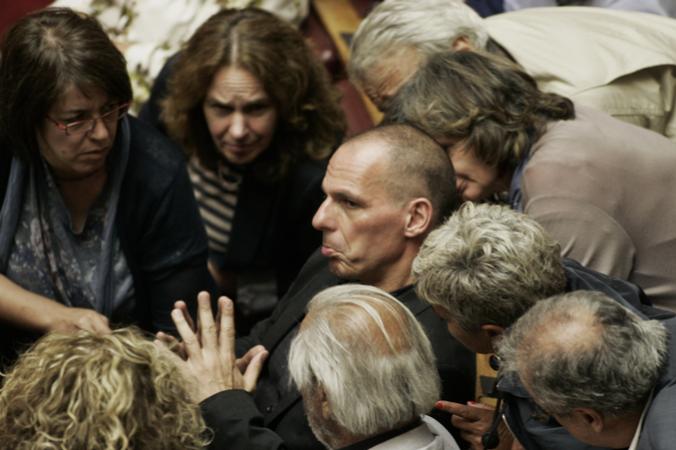 Греция, Янис Варуфакис, отставка, референдум, ЕС, Алексисом Ципрас
