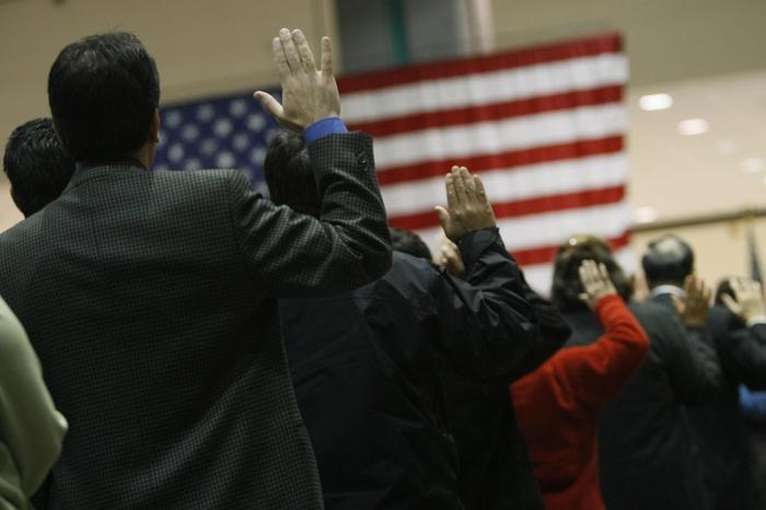 Главной страной эмиграции богатых китайцев является США. Фото: ROBYN BECK/AFP/Getty Images