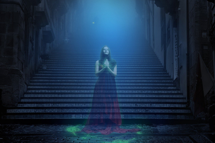 Быть может, привидения — это всего лишь застоявшийся воздух?