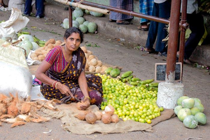 Тамильский рынок. Фото: Татьяна Виноградова/Великая Эпоха