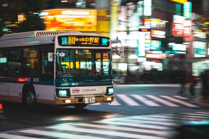 На улицы Токио выехали экологичные автобусы на водороде