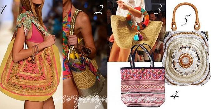 Пляжные сумки. Фото: seasontrends.com.ua