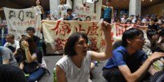 Протестующие студенты Тайваня не идут на компромисс с властями