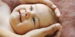 Массаж тела способствует хорошему развитию ребёнка