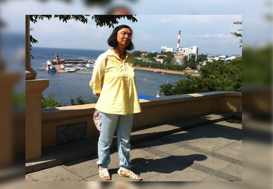 Правозащитник Надежда Лай. Фото: Великая Эпоха
