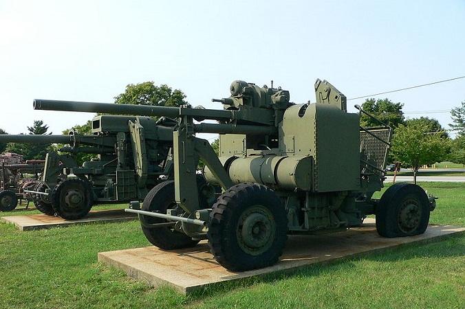 Американское зенитное орудие М-2 времён Второй мировой войны. Фото: Фото: Balcer /commons.wikimedia.org