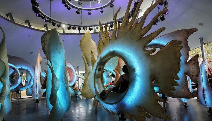 В Нью-Йорке карусель «погрузит посетителей в океан» (видео)