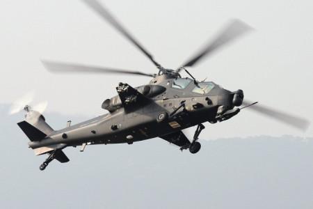 Китайский вертолёт Changhe Z-10 очень сильно напоминает американский «Чёрный ястреб». Фото: Shimin Gu/Wikimedia Commons