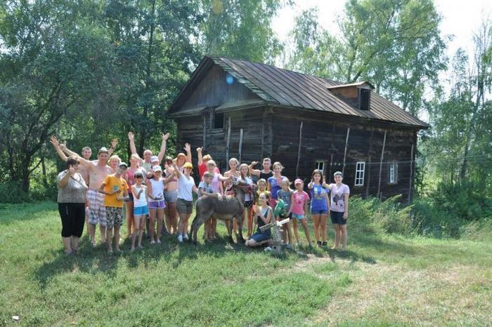 Дом-мельница в селе Лох. Фото: om-saratov.ru