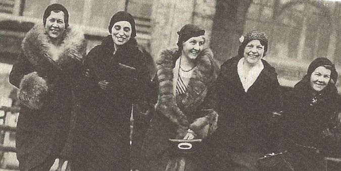 Владелицы франшизы Марты Матильды Харпер. Фото: legacywomeninstitute.org