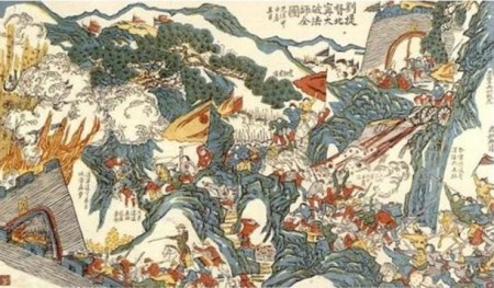 General-Liu-Yongfu-fighting