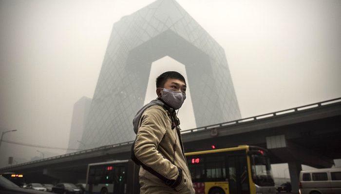 Загрязнение воздуха в Китае является причиной смерти 4400 человек в день