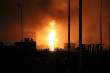 Взрыв в Тяньцзине