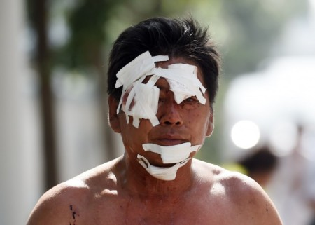 жертва взрыва в Тяньцзине