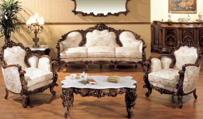 Комплект итальянской мебели для зала. Фото: primedesign.ru