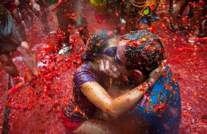 Ла Томатина, Испания, фестиваль, помидор, праздник