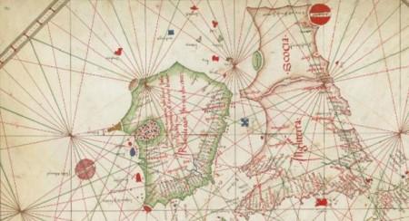 Nautical-chart-of-Western-Europe