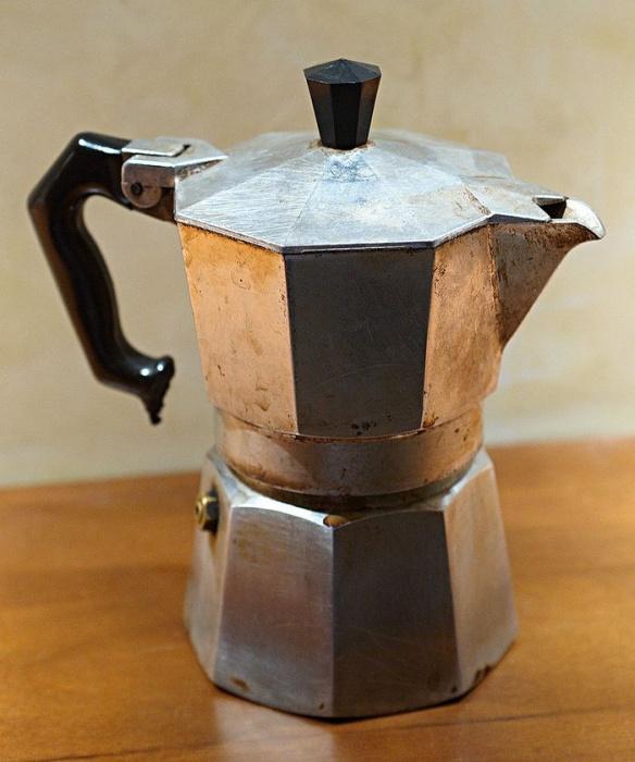 Чайник сделанный как кофеварка
