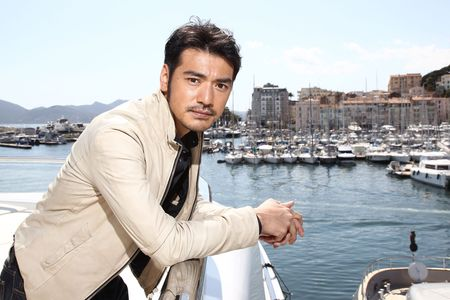 "CANNES, FRANCE - MAY 15:  Actor Takeshi Kaneshiro poses at the ""Wu Xia"" portrait session during the 64th Annual Cannes Film Festival on May 15, 2011 in Cannes, France.  (Photo by Andreas Rentz/Getty Images)"