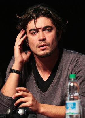 ROME, ITALY - NOVEMBER 16:  Actor Riccardo Scamarcio attends the 'Cosimo E Nicole' Press Conference during the 7th Rome Film Festival at the Auditorium Parco Della Musica on November 16, 2012 in Rome, Italy.  (Photo by Elisabetta Villa/Getty Images)