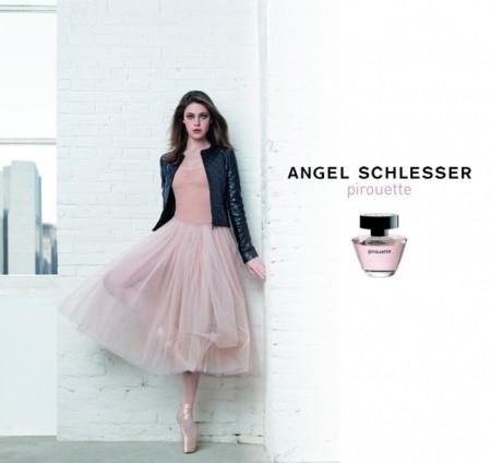 Рекламная компания одного из ароматов Анхеля Шлессера. Фото: rivegauche.ru