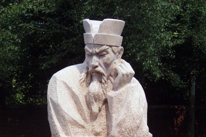 Современная китайская статуя Шан Яна. Фото: Fanghong/CC BY-SA 3.0