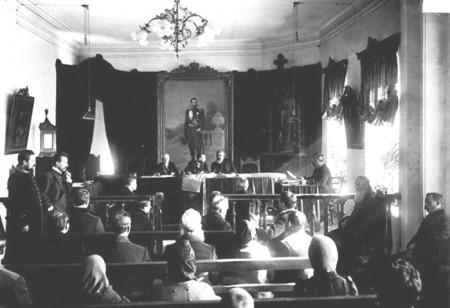 Судебное заседание в XIX веке. Фото: jefot.com