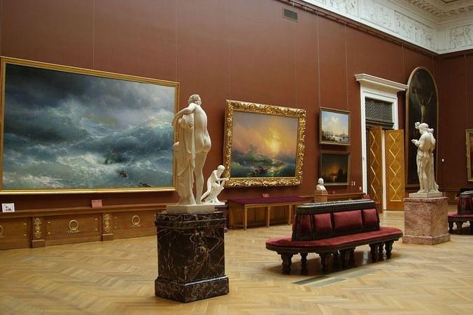 В Государственном Русском музее. Фото: commons.wikimedia.org