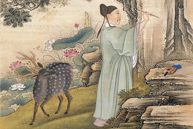 В конфуцианской традиции выражение «стоять, как величественная сосна» подразумевало не просто стоять прямо, а иметь прочную основу. Рисунок неизвестного придворного художника эпохи Юнчжэн (1723-1735). Фото: Wikimedia Commons