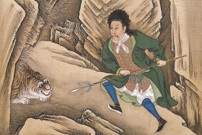 Иллюстрация из альбома «Костюмы императора Юнчжэна», неизвестные художники (1723-1735). Фото: Wikimedia Commonms