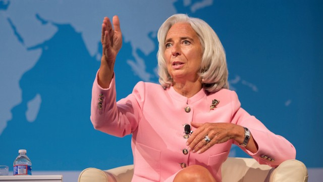 Директор МВФ Кристин Лагард. Фото: hubs.ua
