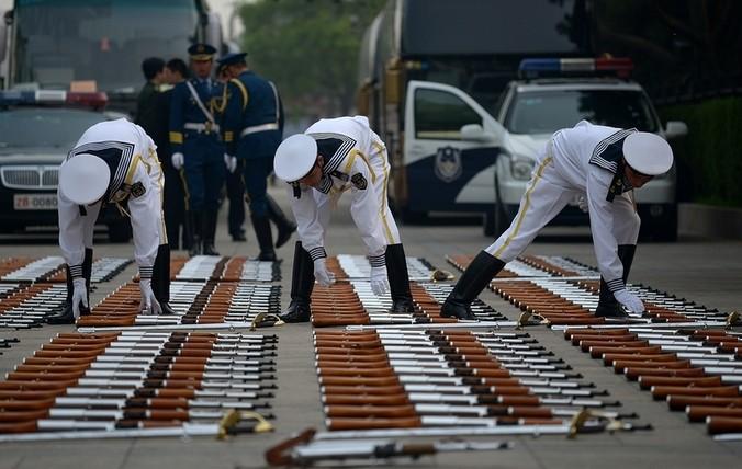 подготовка военного парада