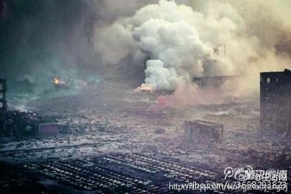 Взрывы в Тяньцзине. Август 2015 года. Фото с epochtimes.com