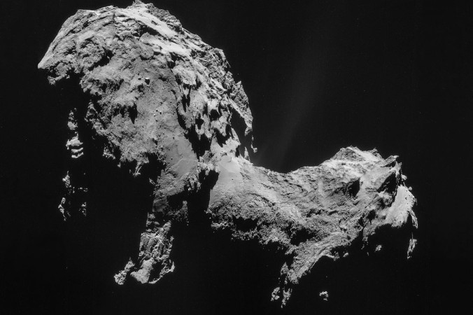 Комета Чурюмова-Герасименко. Фото: Huntster/wikipedia.org/ CC BY-SA IGO 3.0
