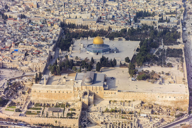 Храмовая гора в Иерусалиме. Фото: Godot13/wikipedia.org/CC BY-SA 3.0