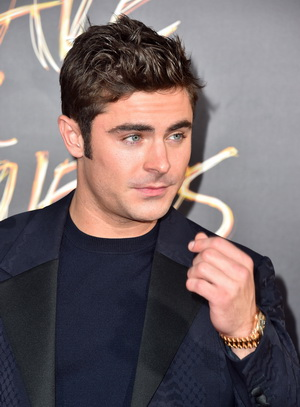 "HOLLYWOOD, CA - AUGUST 20:  Actor Zac Efron attends the premiere of Warner Bros. Pictures' ""We Are Your Friends"" at TCL Chinese Theatre on August 20, 2015 in Hollywood, California.  (Photo by Alberto E. Rodriguez/Getty Images)"
