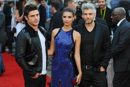 "LONDON, ENGLAND - AUGUST 11:  Zak Efron, Emily Ratajkowski and Max Joseph attend the European Premiere of ""We Are Your Friends"" at Ritzy Brixton on August 11, 2015 in London, England.  (Photo by Stuart C. Wilson/Getty Images)"