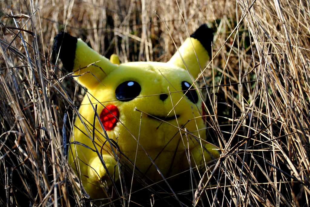 Покемон Пикачу. Фото: Sadie Hernandez/flickr.com/CC BY 2.0