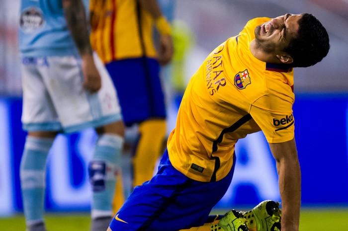 Луис Суарес ФК «Барселона». Фото: Alex Caparros/Getty Images