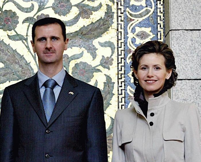 Президент Сирии Башар Асад со своей супругой. Фото: Ricardo Stuckert/ABr/sk.wikipedia.org/CC BY 3.0 BR