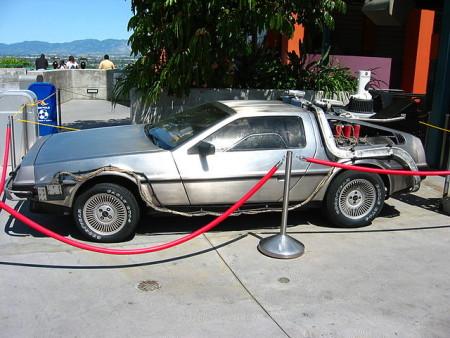 Автомобиль Delorean5 из фильма «Назад в будущее». Фото: Fabien1309/wikipedia.org/public domain