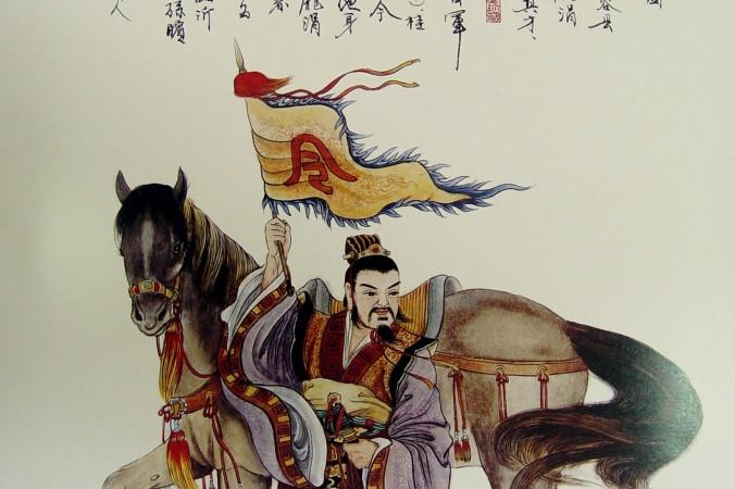 Сунь Бинь, потомок Сунь-цзы, автора «Искусства войны». Фото: Wang Shuang-K'uan/Epoch Times