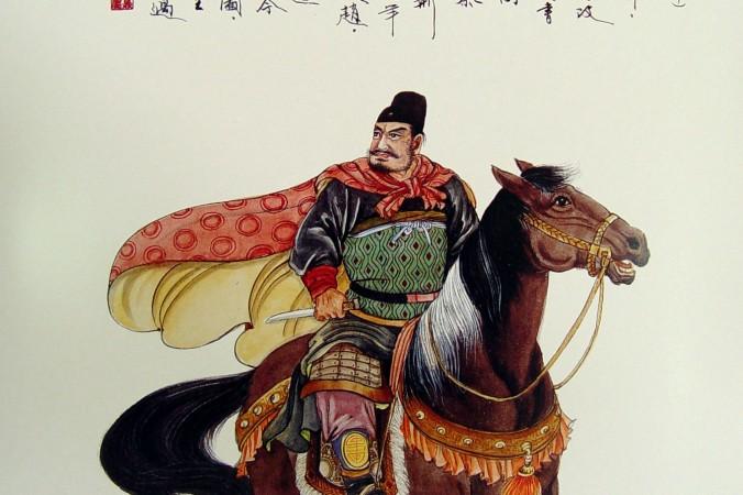 Цзин Кэ готовится к покушению на царя Ин Чжэна. Фото: Wang Shuang-K'uan/Epoch Times