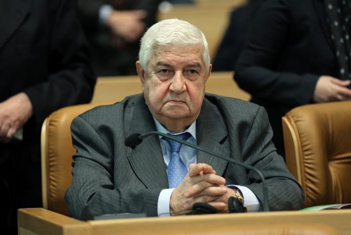 Министр иностранных дел Сирии Валид аль-Муаллем Фото: ATTA KENARE/AFP/Getty Images