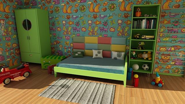 Обустройство детской комнаты — задача повышенной сложности