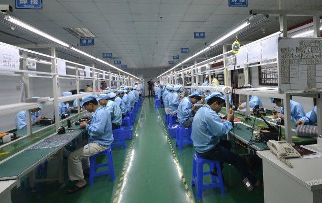 В Китае снижение производства приводит к массовым увольнениям (видео)