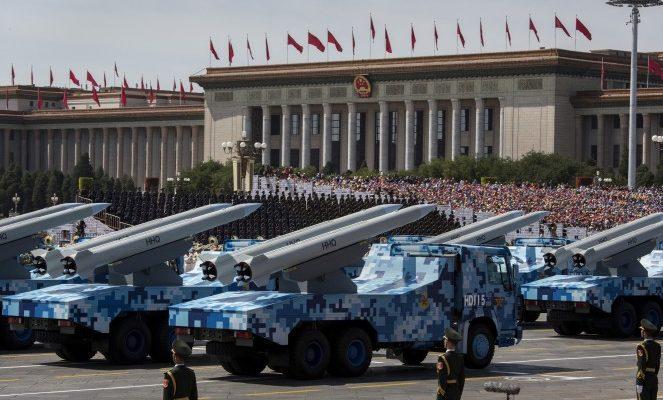 Китайский парад как реклама вооружения