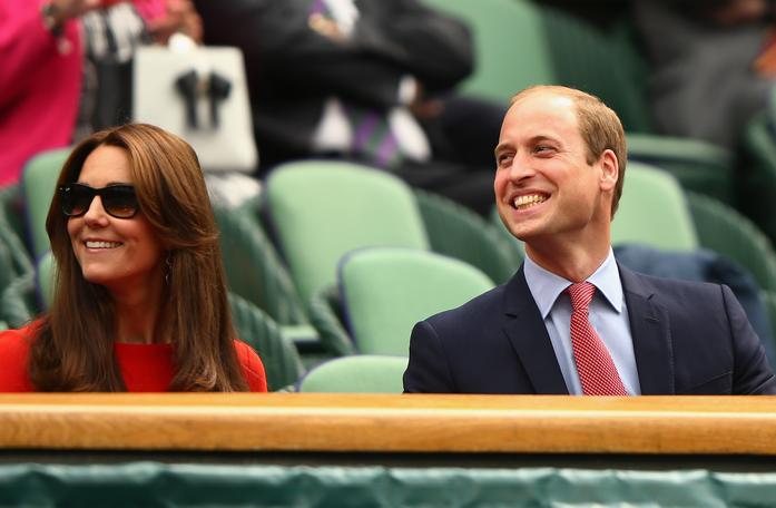 Елизавета II, Кейт Миддлтон, принц Уильям