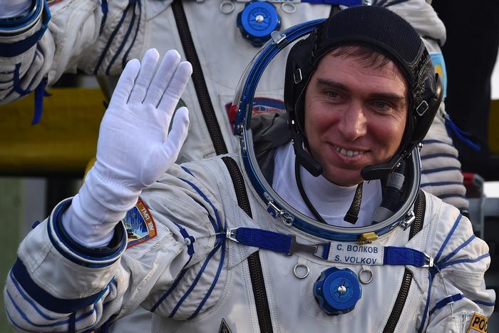 МКС, Байконур, Союз, космический корабль, космос, космонавт, астронавт